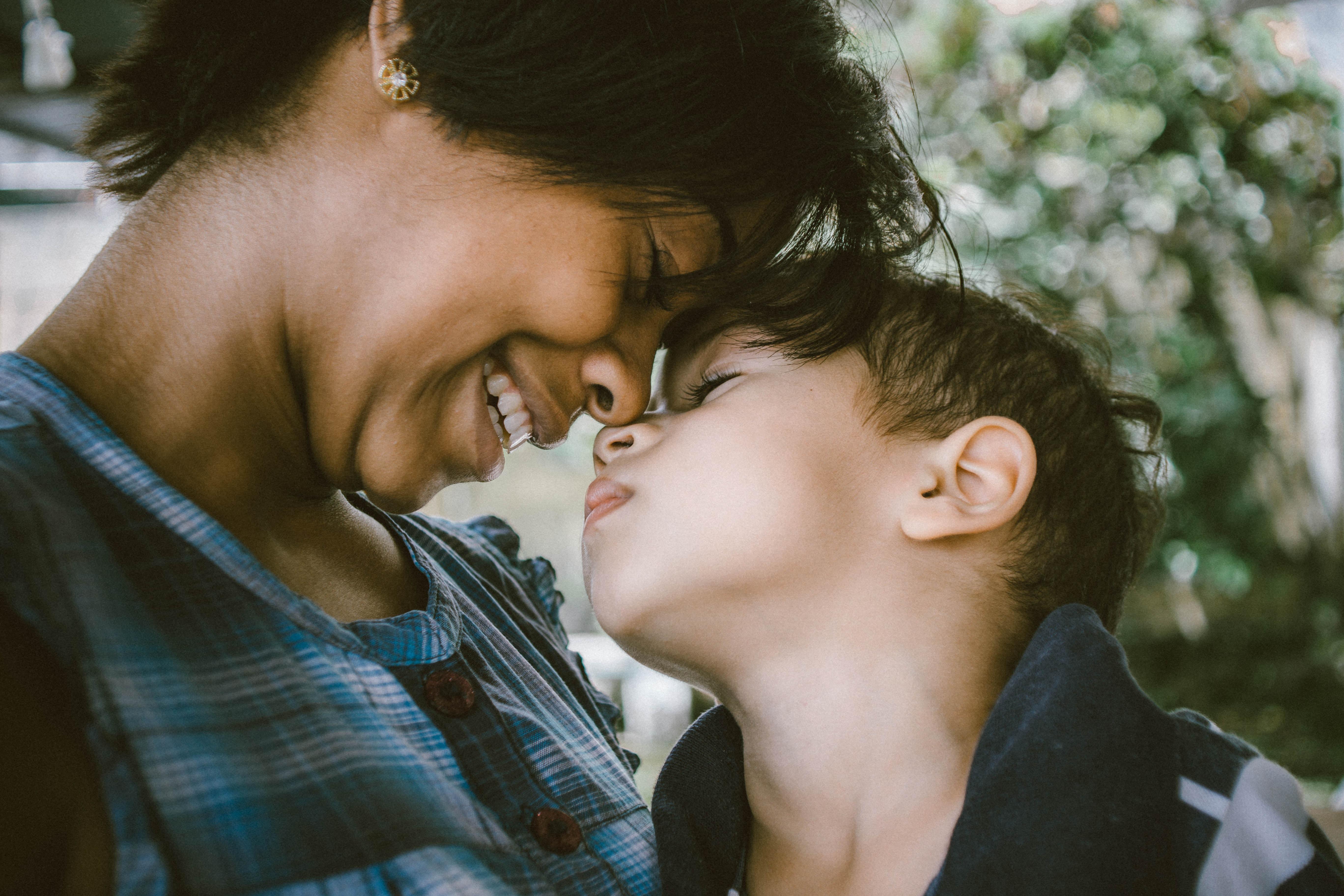 Femme avec un enfant