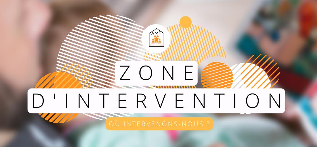 Zone d'intervention de l'association d'aide aux mères et aux familles de Lille